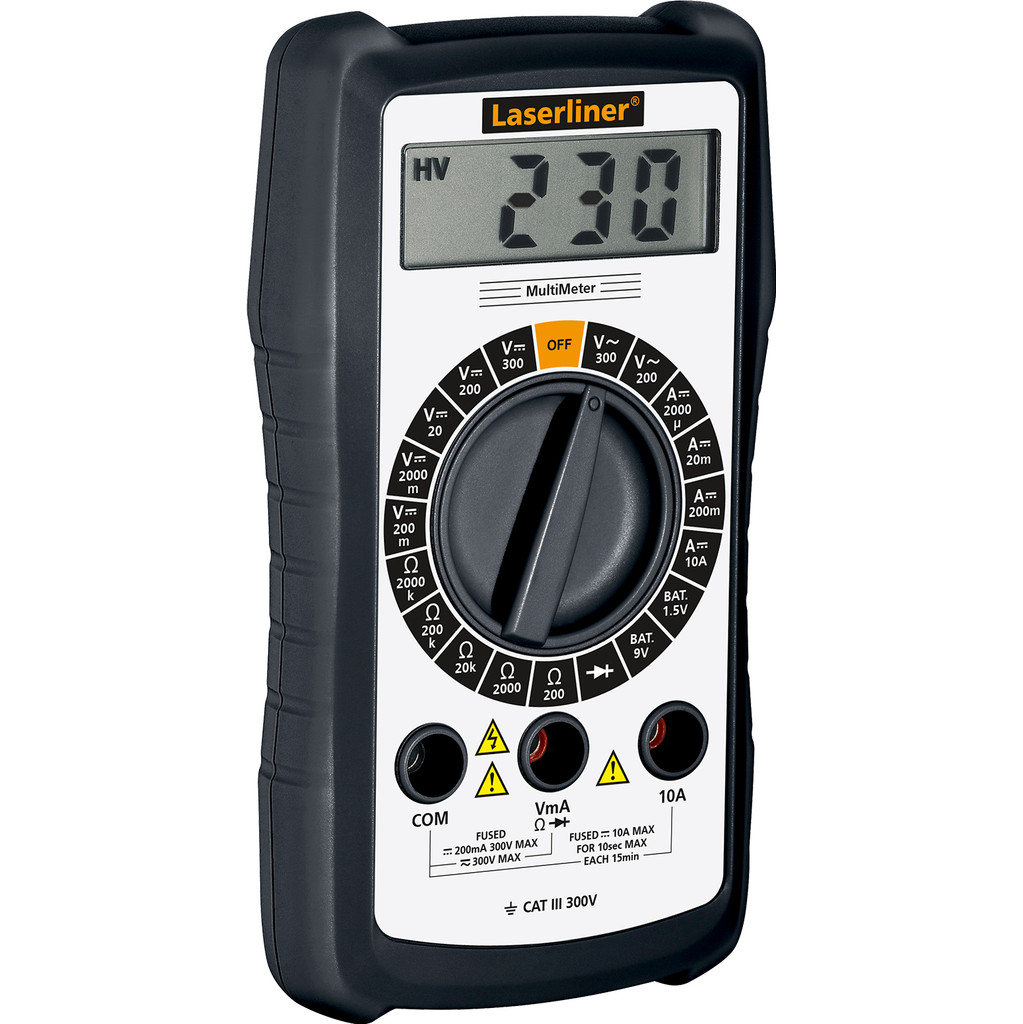 Laserliner MultiMeter in Ham