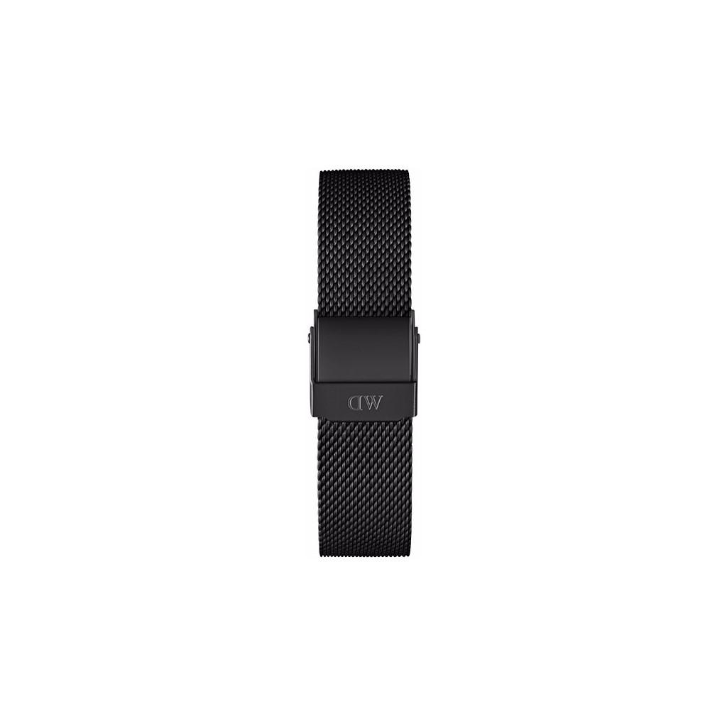 Afbeelding van Daniel Wellington Ashfield Strap Black 12mm horlogebandje