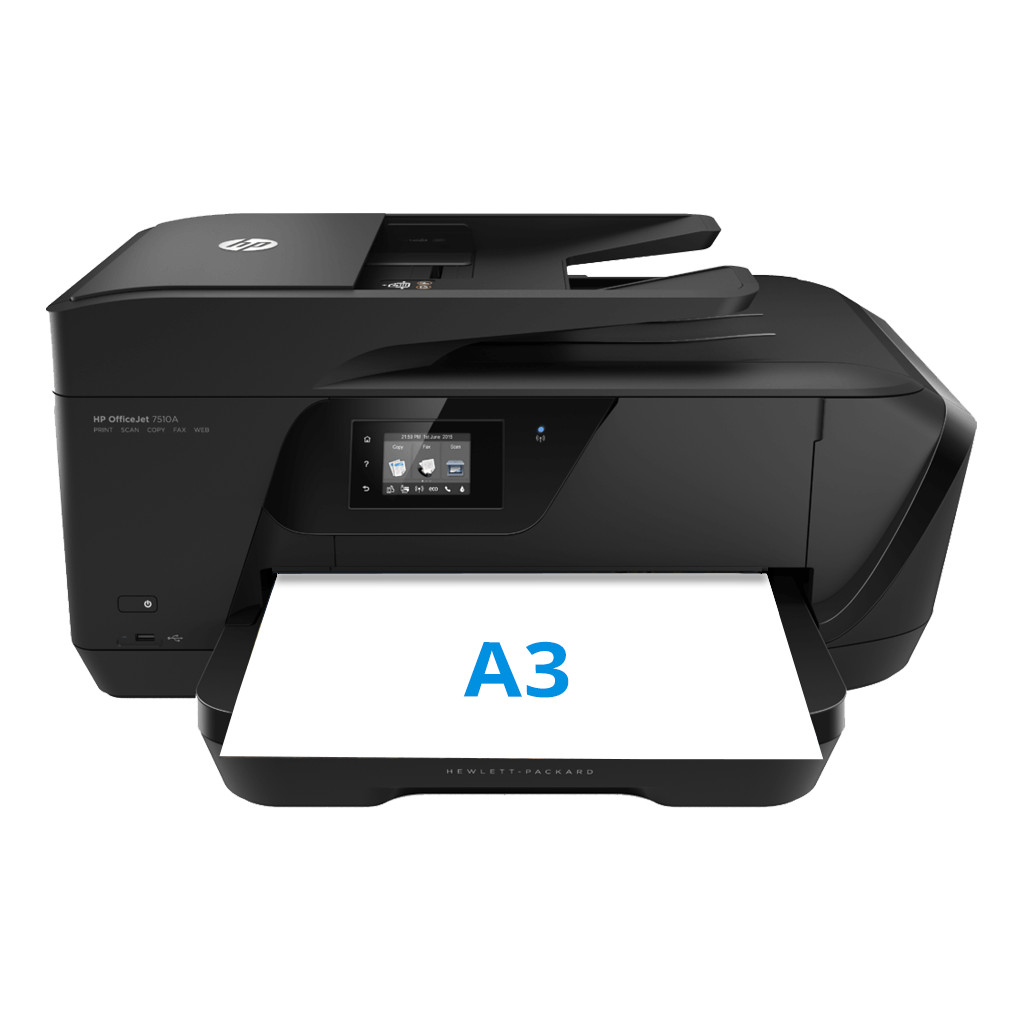 Hp officejet 7510 wide format aio