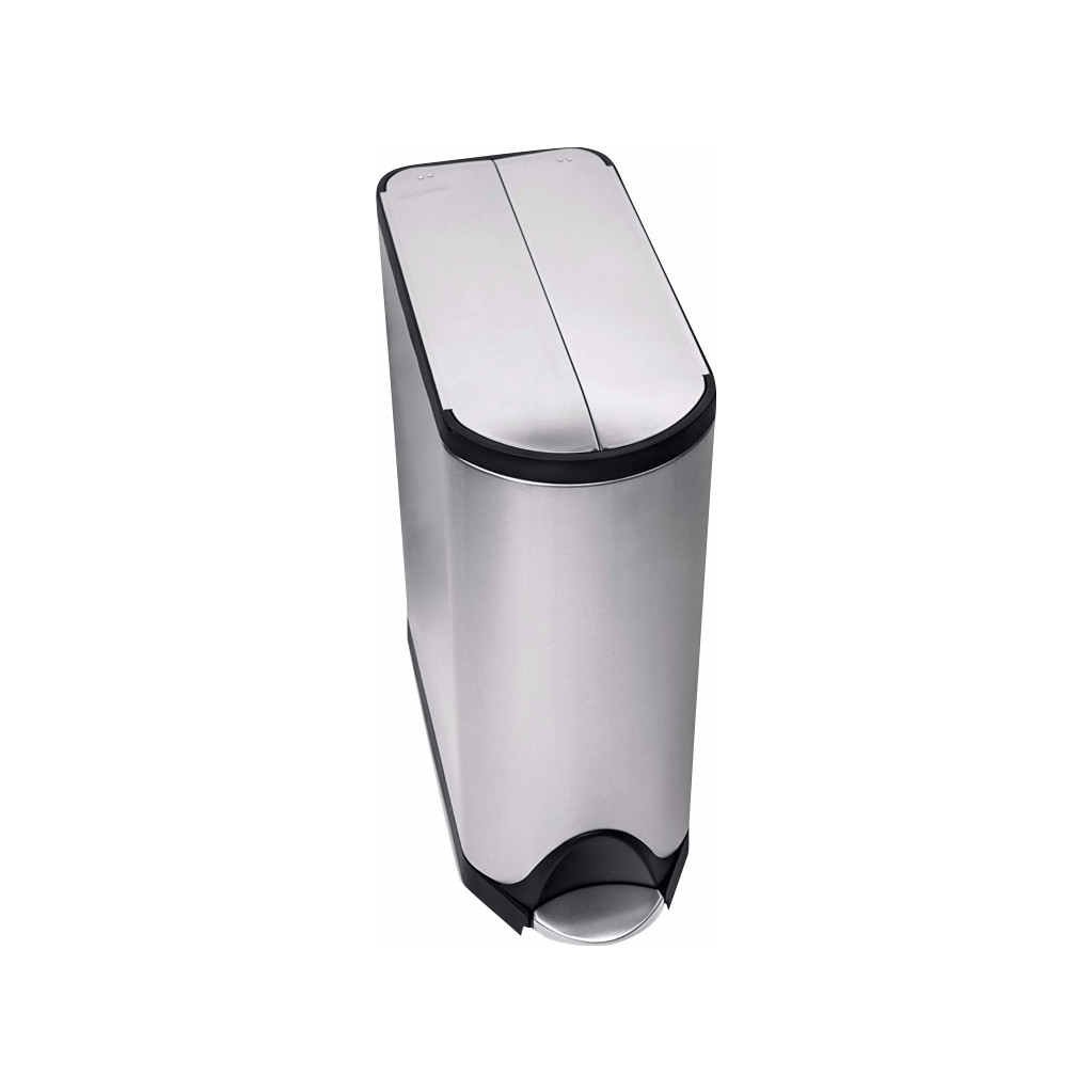 Image of Simplehuman Butterfly Recycler 20 + 20 Liter