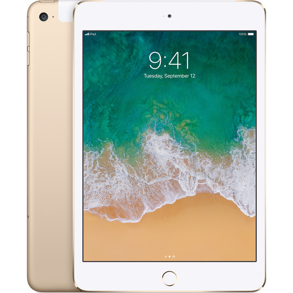 Apple MK8F2LL-A iPad mini 4 128GB Wifi + Cellular Goud