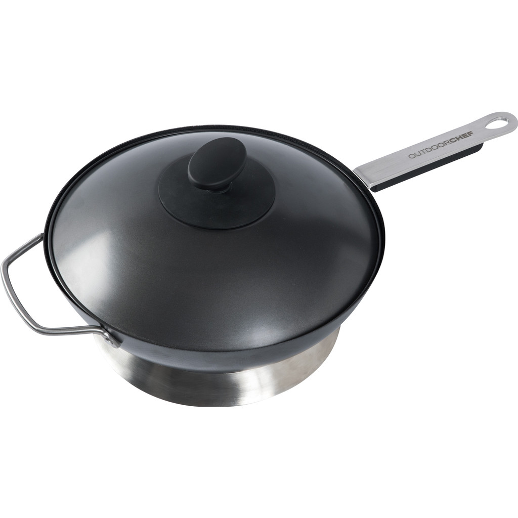 Outdoorchef Wokpan met Steel en Deksel Ø 35 cm in Corroy-le-Grand