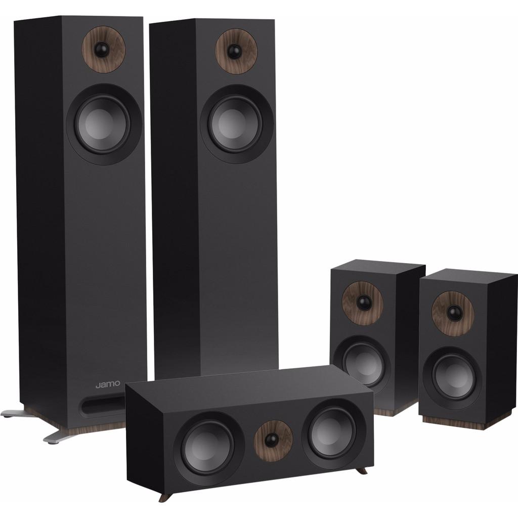 Jamo S 805 HCS Surround Set Zwart kopen