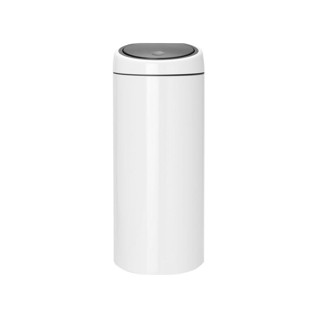 Brabantia Touch Bin 30 Liter Wit in Ingen