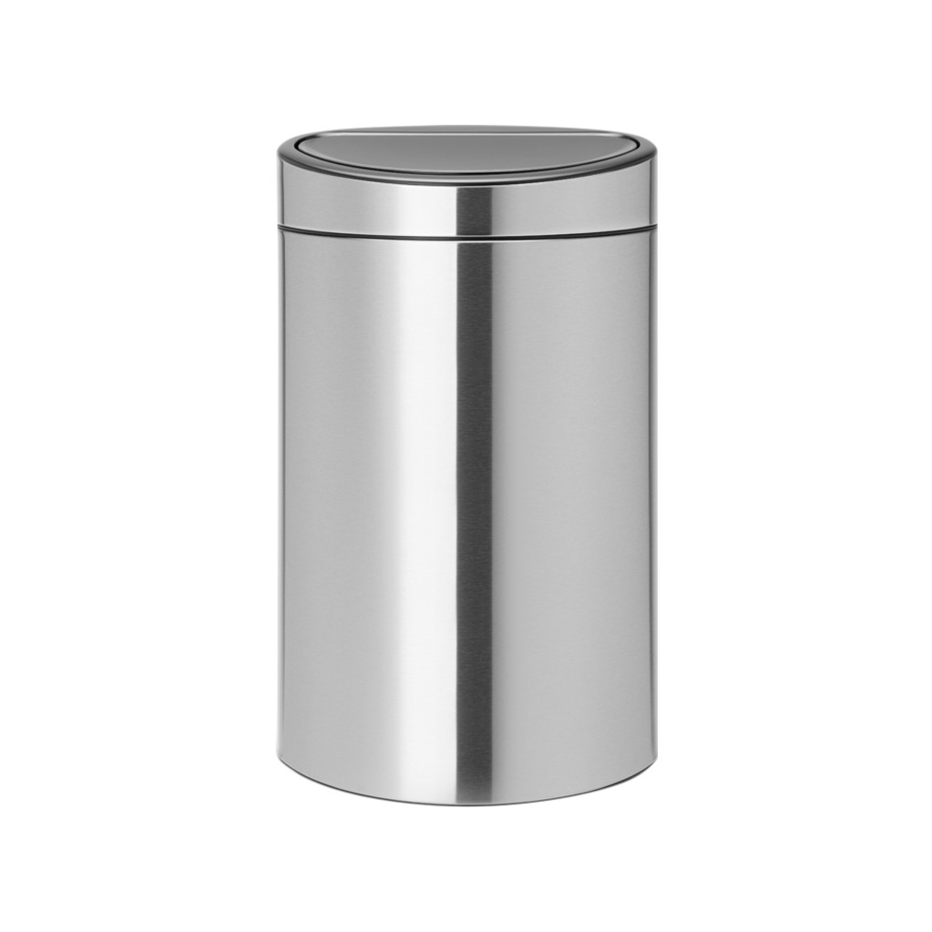 Brabantia Touch Bin Recycle 10 + 23 liter Matt Steel in Barlo