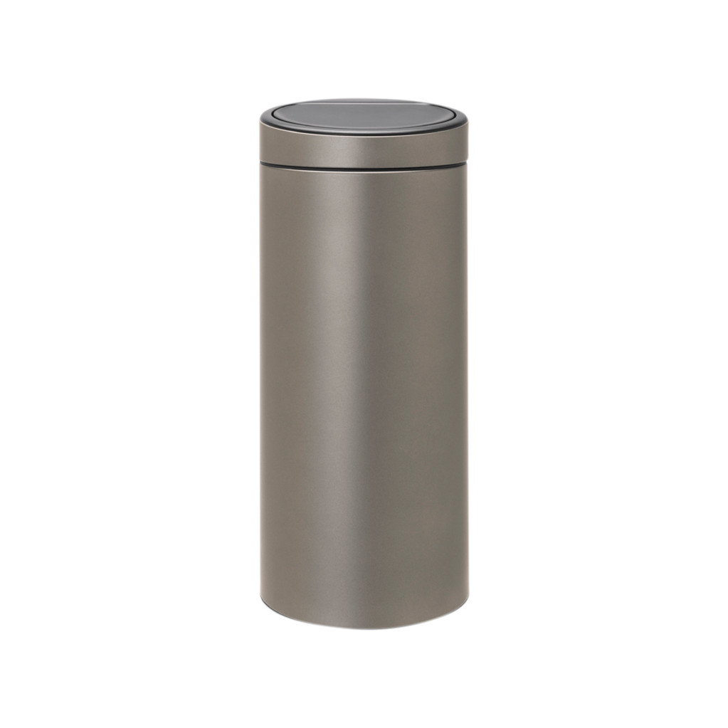 Brabantia Afvalbak 30 Liter.Aanbieding Brabantia Touch Bin 30 Liter Platinum Brabantia Met