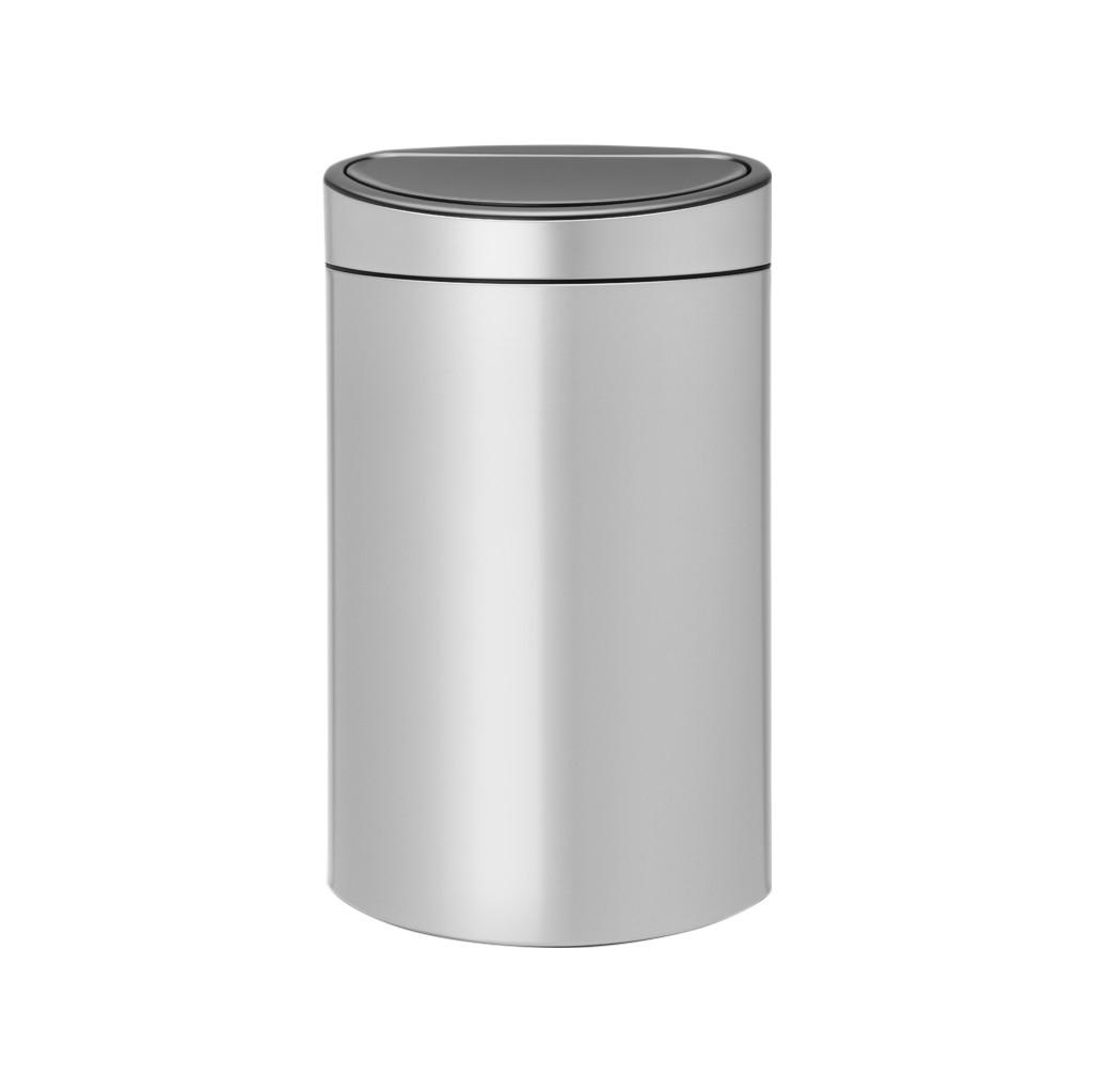 Brabantia Touch Bin 40 Liter Metallic Grey