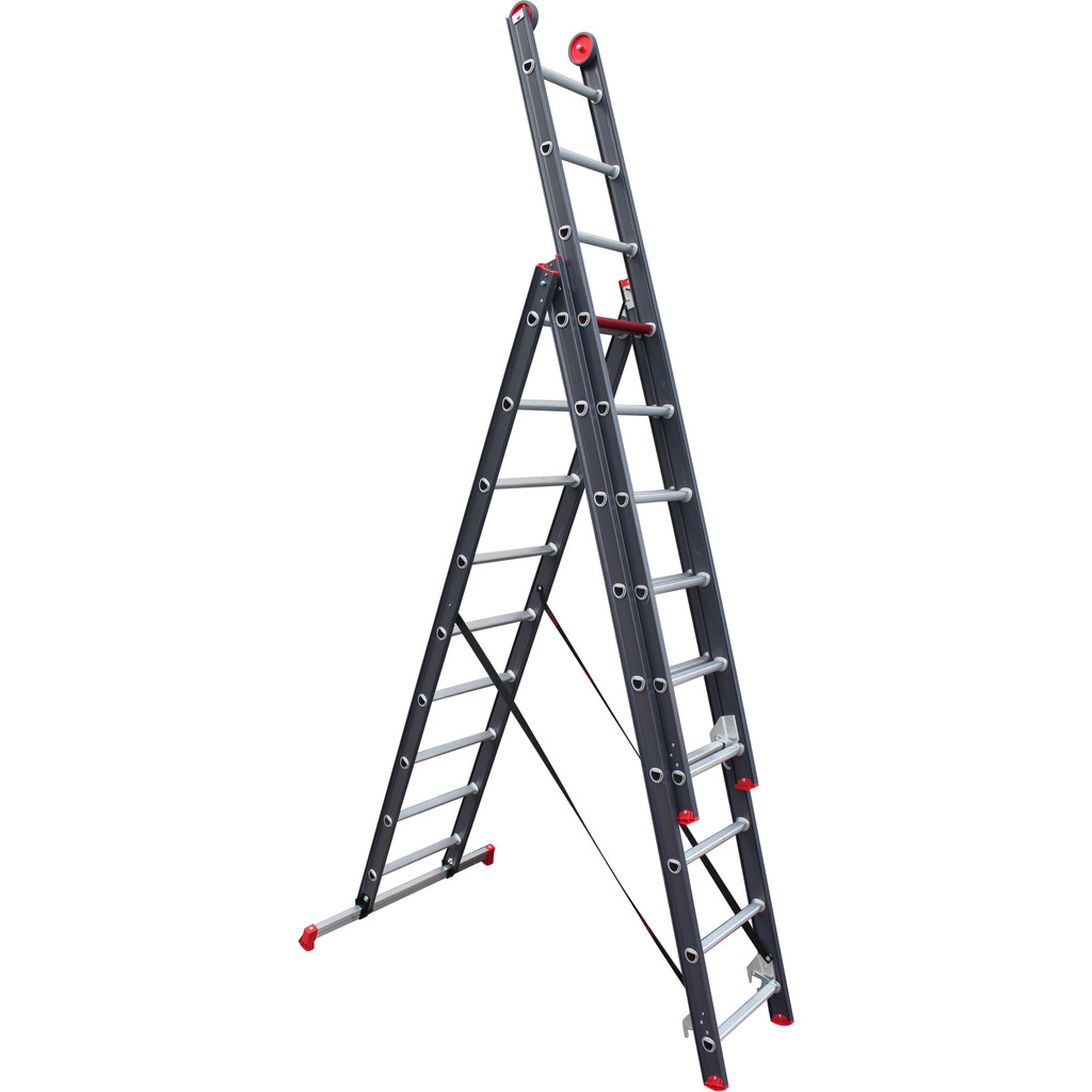 Afbeelding van Altrex All Round 3 x 9 Gecoat ladder