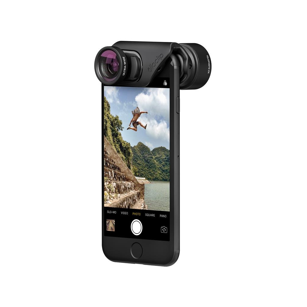 Olloclip Active Lens Set Connect voor iPhone 7/8 en 7/8 Plus in De Zilk