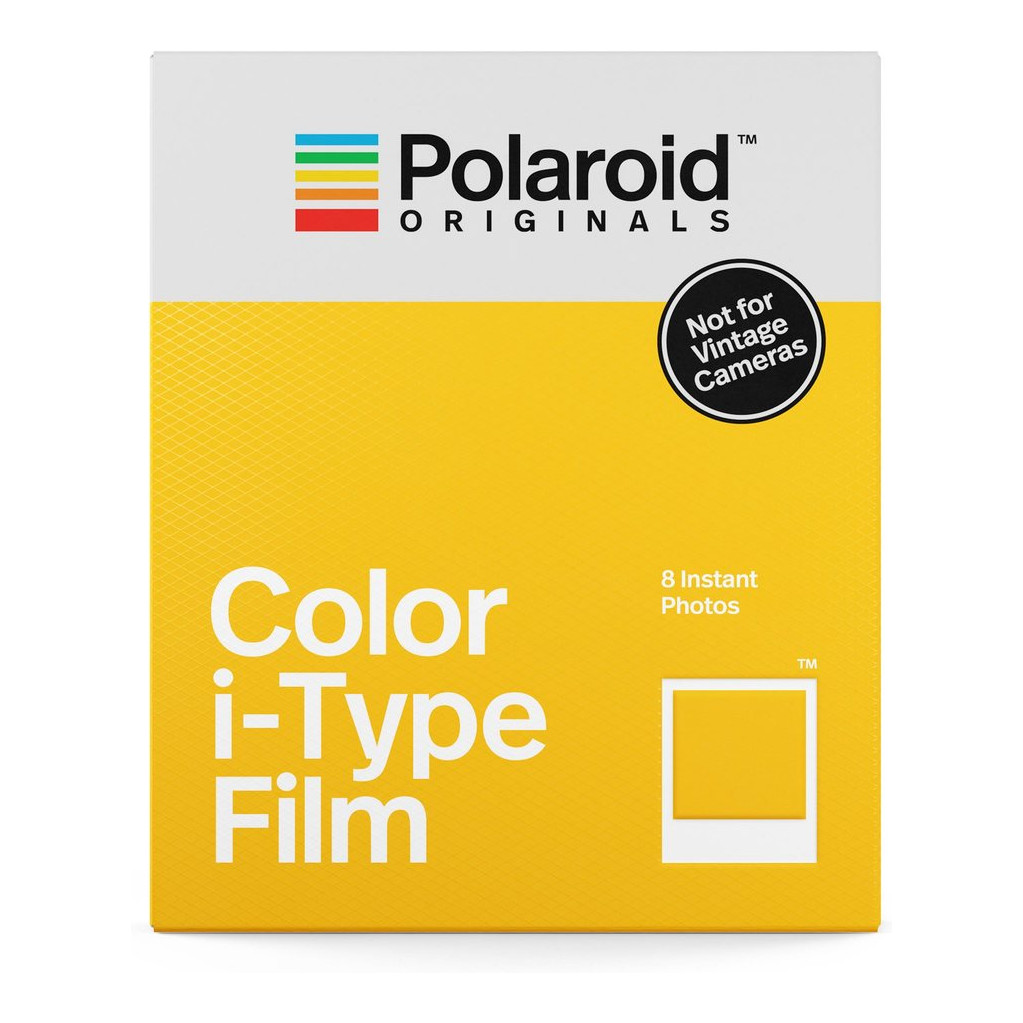 Polaroid Original Color Instant fotopapier voor I-type in Enumatil