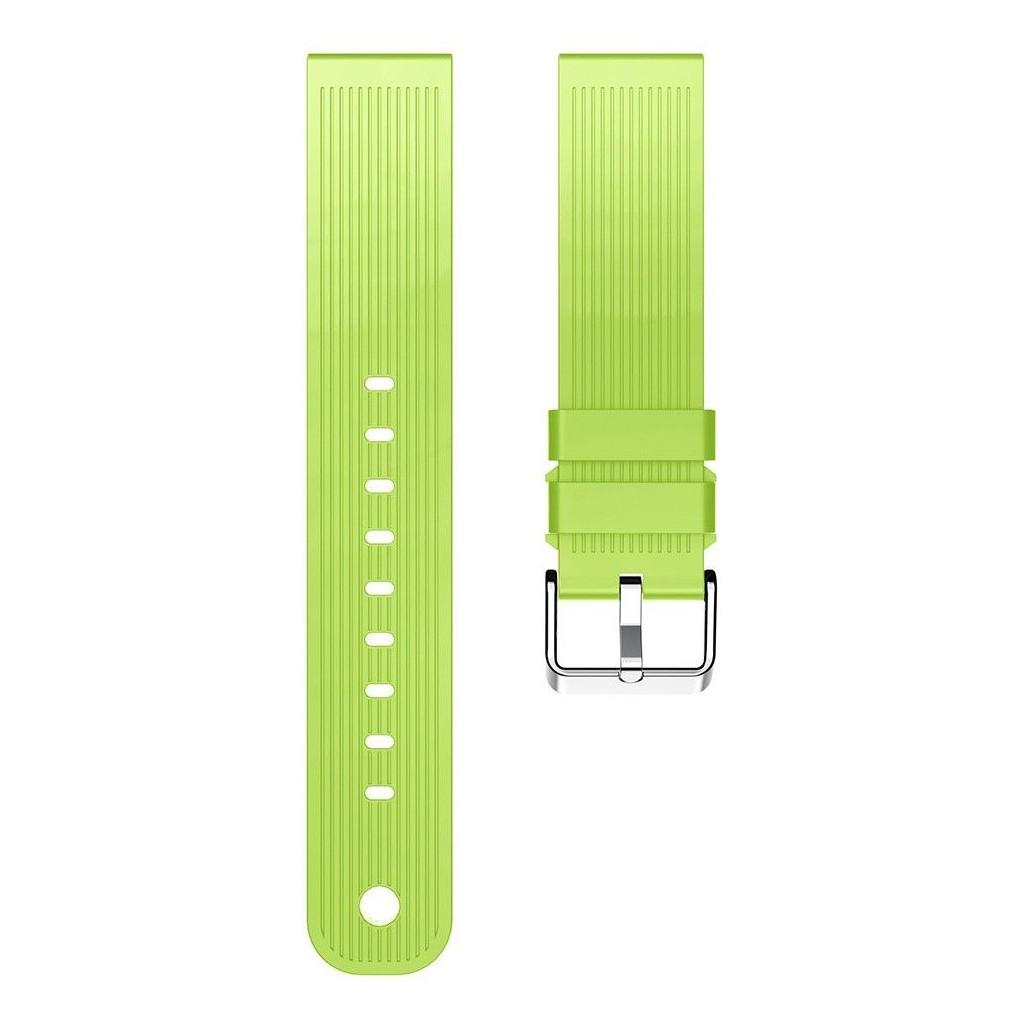 Just in Case Samsung Gear Sport Siliconen Horlogeband Groen kopen