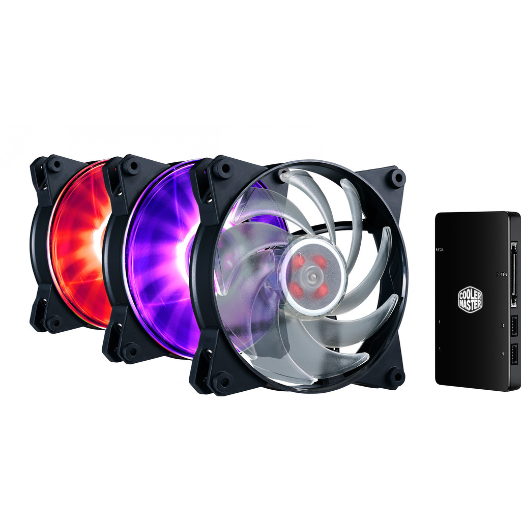 Cooler Master MasterFan Pro 120 Air Balance 3 In 1 RGB in Chièvres