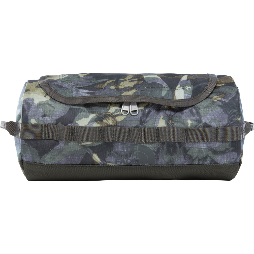 The North Face Base Camp Travel Canister Camo/Taupe Green-L in Kortessem