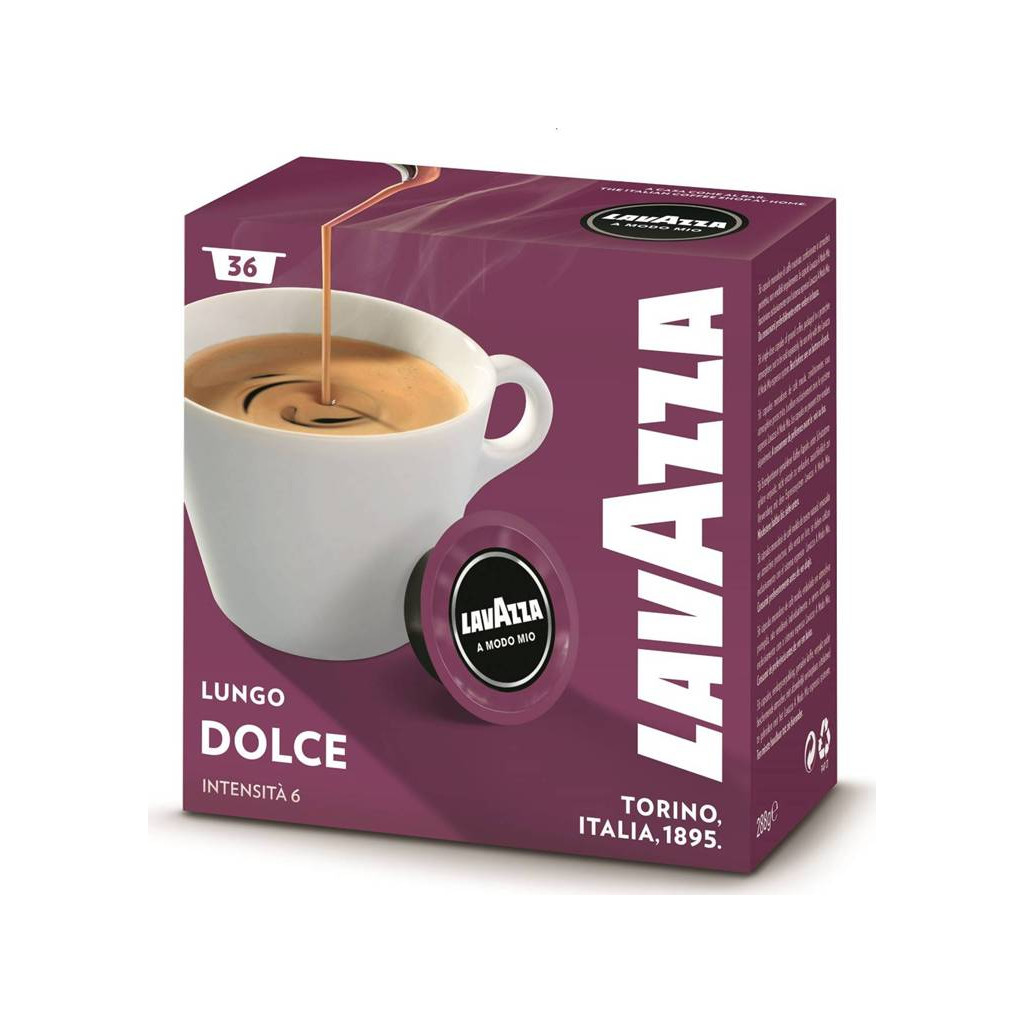 Lavazza A Modo Mio Dolce 36 cups in Maastricht-Airport