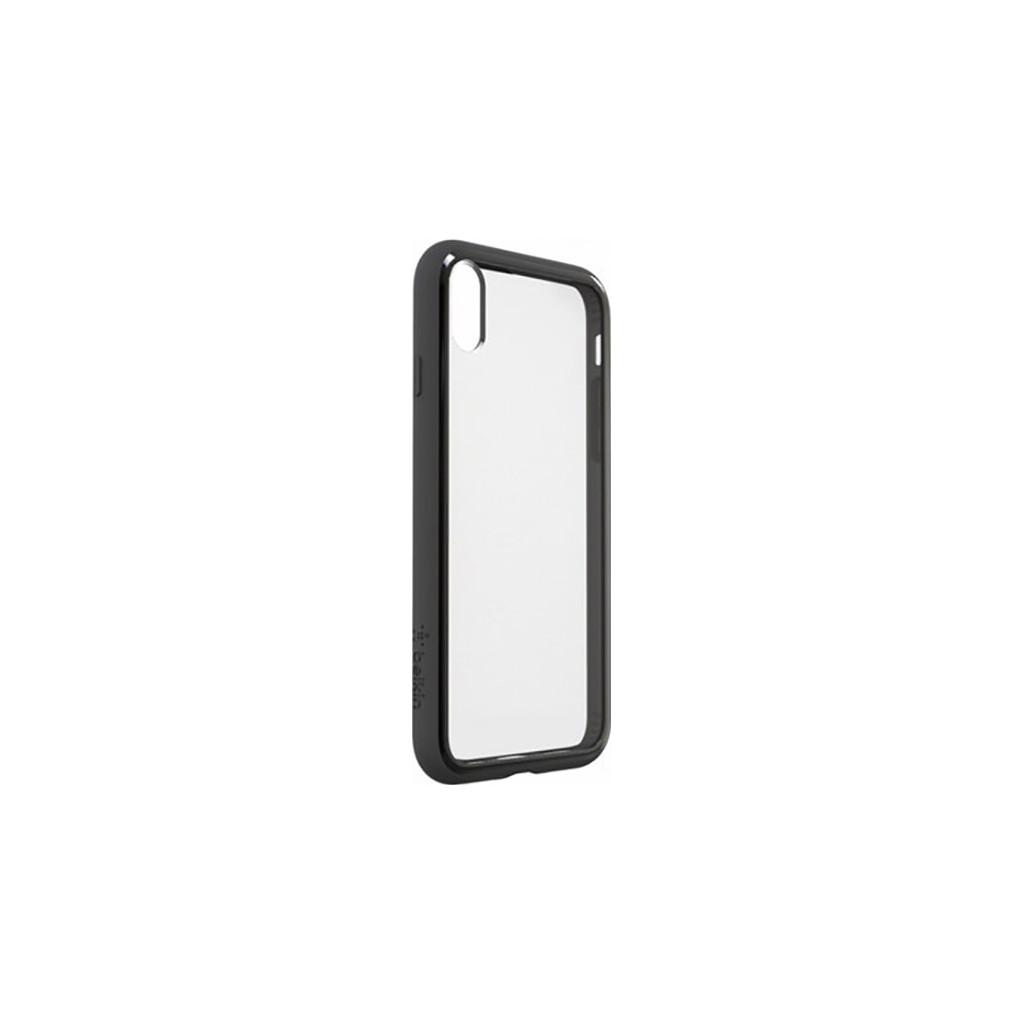 Belkin Elite SheerForce Apple iPhone X Back Cover Zwart
