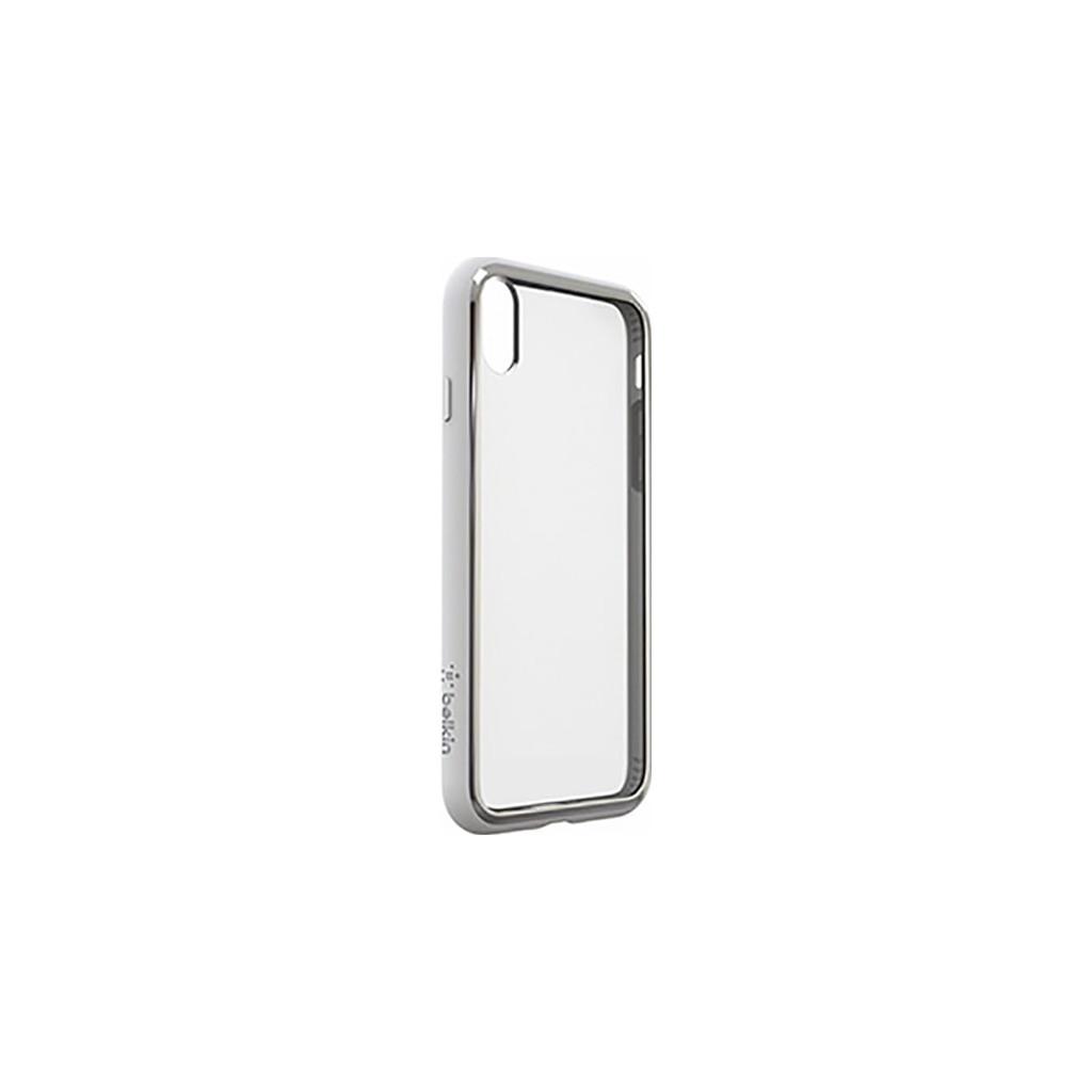Belkin Elite SheerForce Apple iPhone X Back Cover Zilver