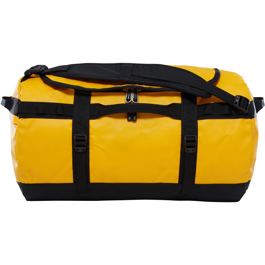 The North Face Base Camp Duffel S Summit Gold/TNF Black in Koksijde