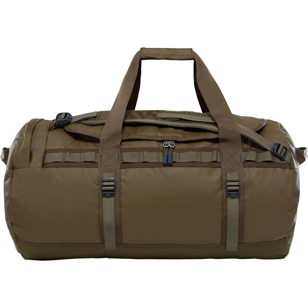 The North Face Base Camp Duffel M Beech Green/Burnt Olive Green in Havelange