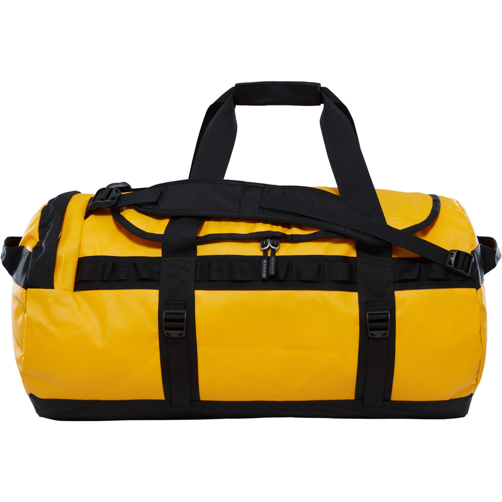 The North Face Base Camp Duffel M Summit Gold-TNF Black