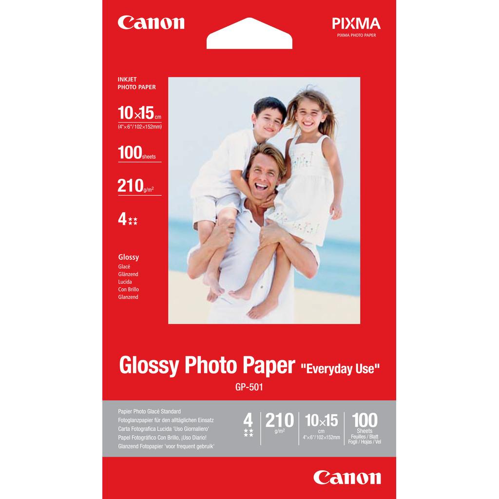 Canon GP-501 Glossy Fotopapier 100 vel 10 x 15 cm in Wambeek