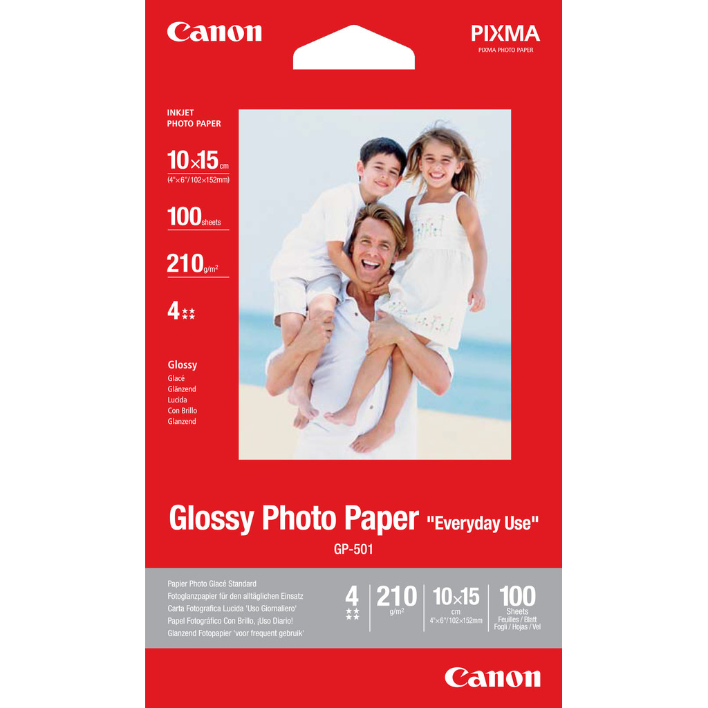 Canon GP-501 Glossy Fotopapier 100 vel 10 x 15 cm in Wesepe