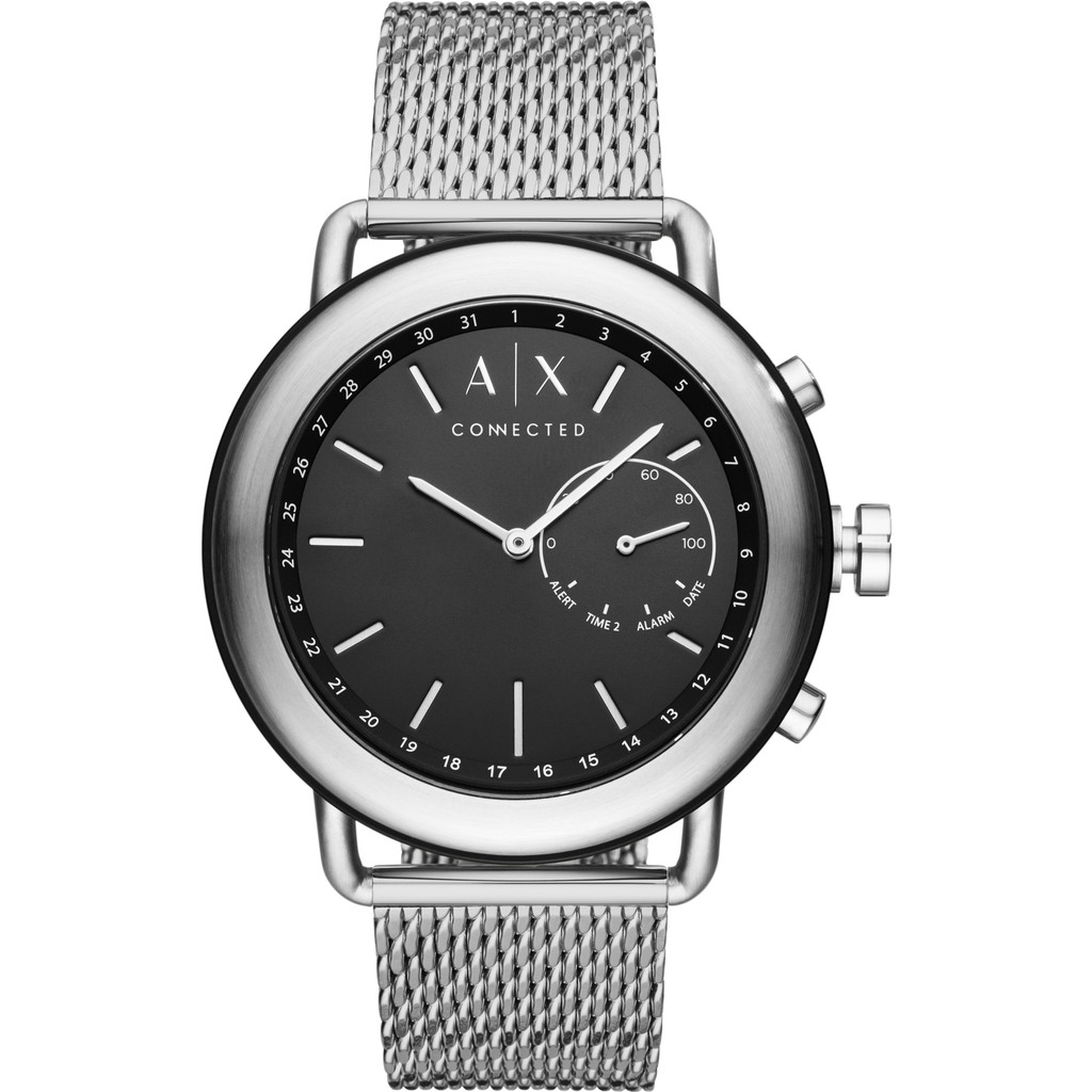 Afbeelding van Armani Exchange Connected Zwart/Zilver slimme horloge