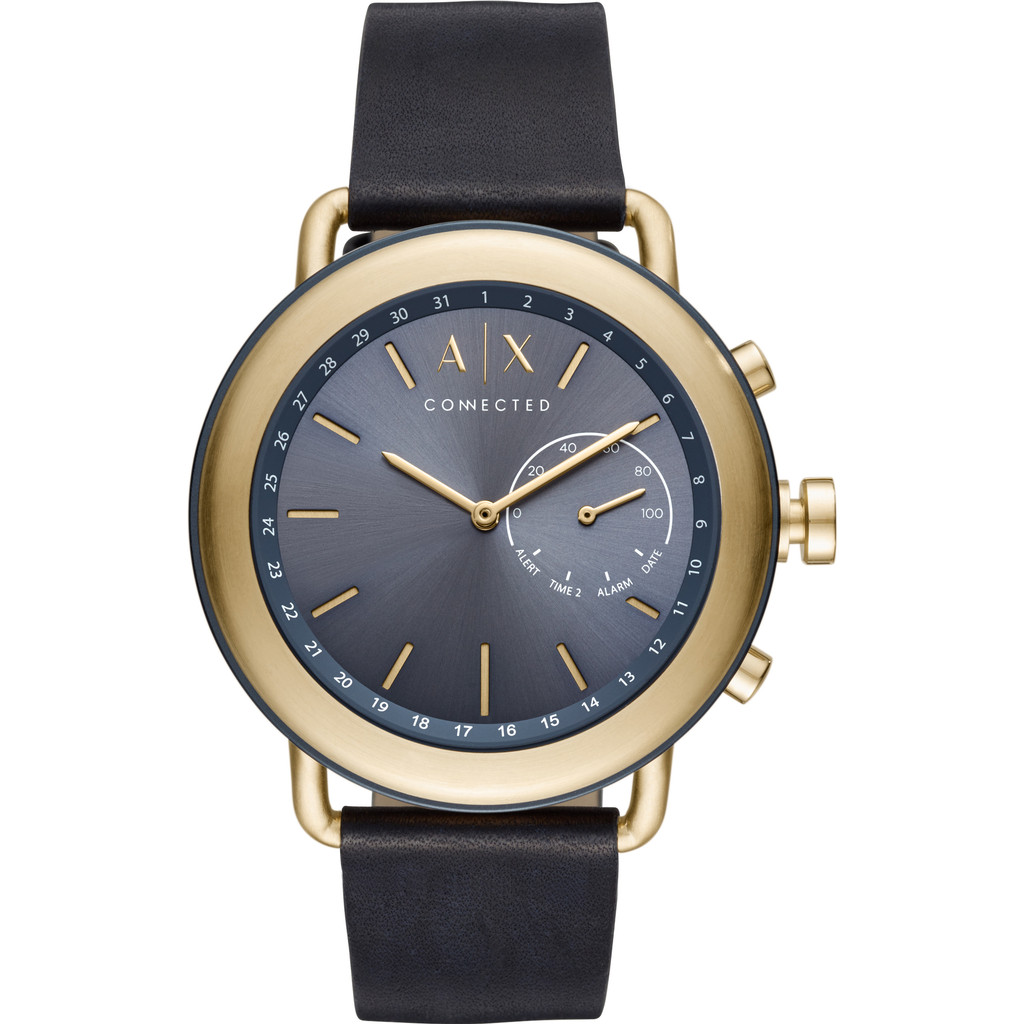 Afbeelding van Armani Exchange Connected Blauw/Goud slimme horloge