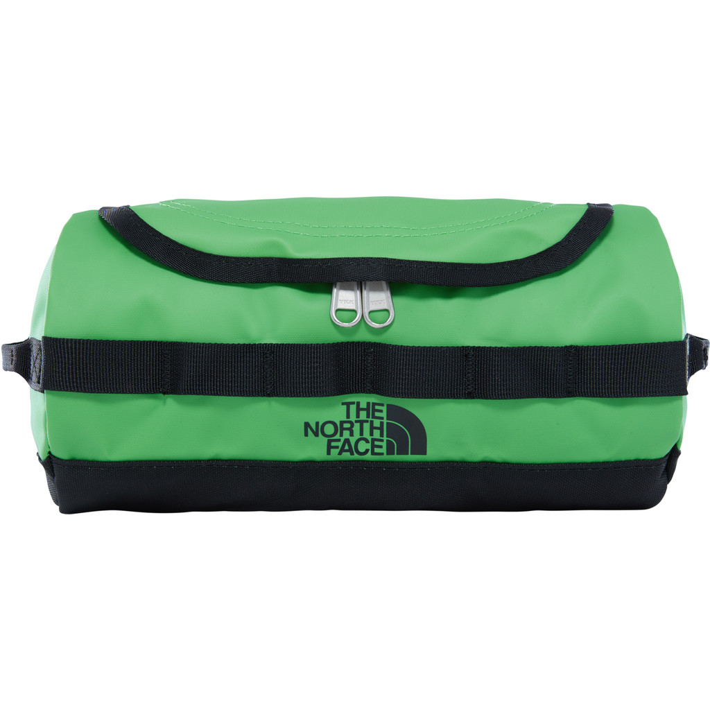 The North Face Base Camp Travel Canister Classic Green/TNF Black - S in Beernem