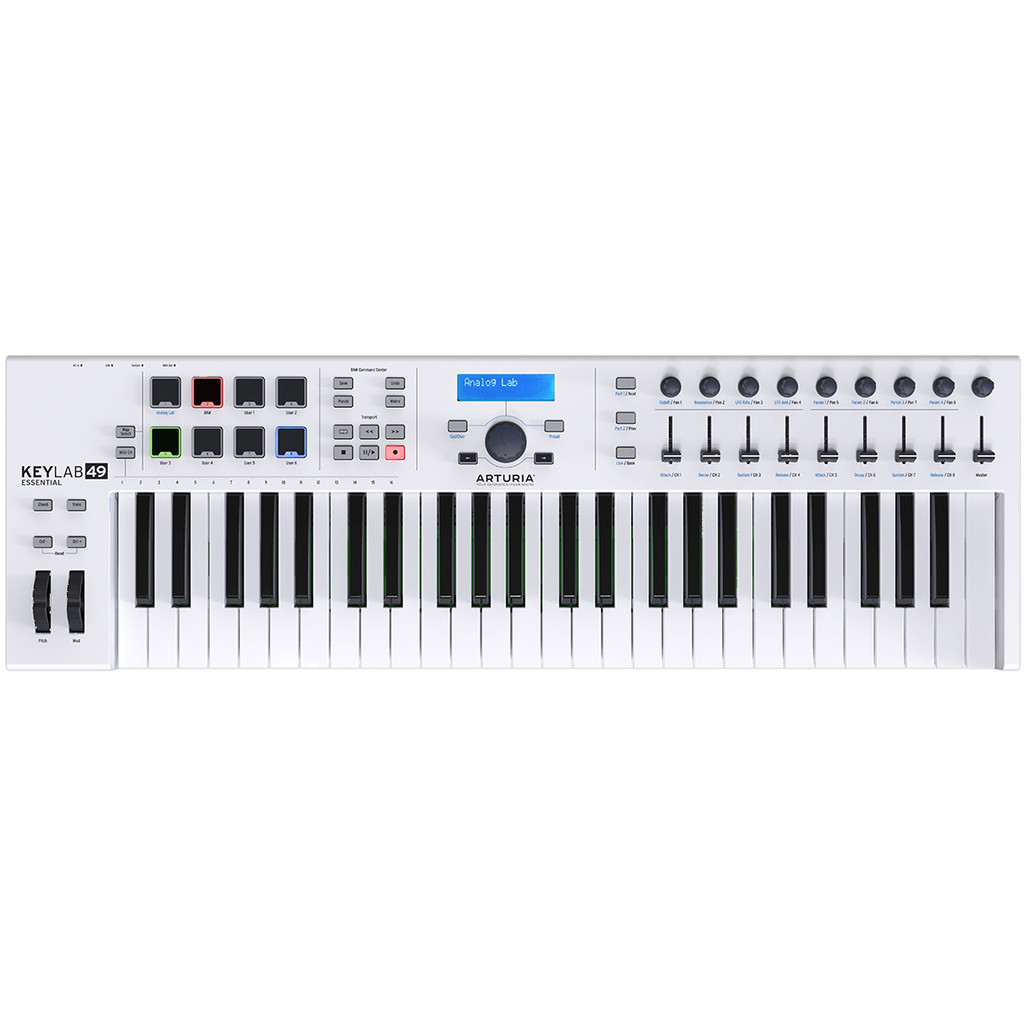 Arturia Keylab Essential 49 Wit in Izegem