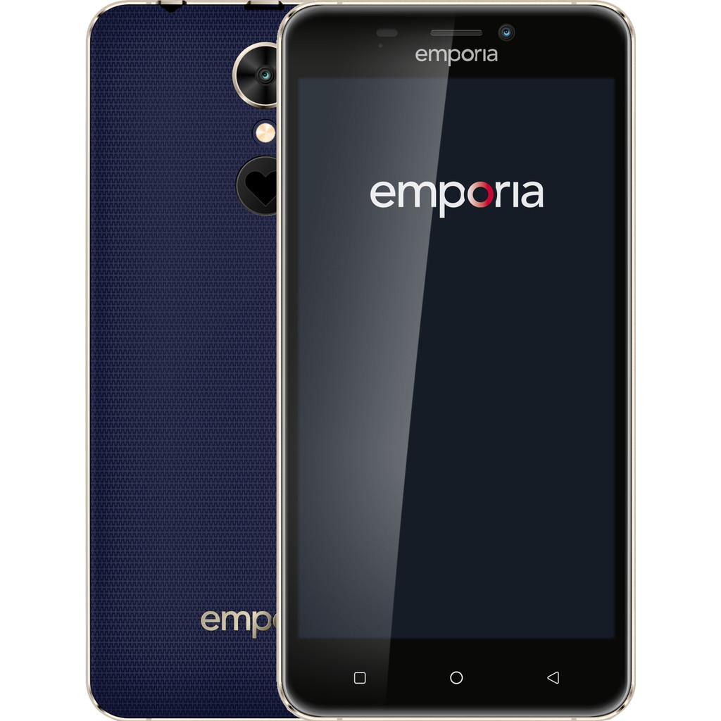 Emporia SMART.2 Single SIM 4G 16GB Zwart, Blauw