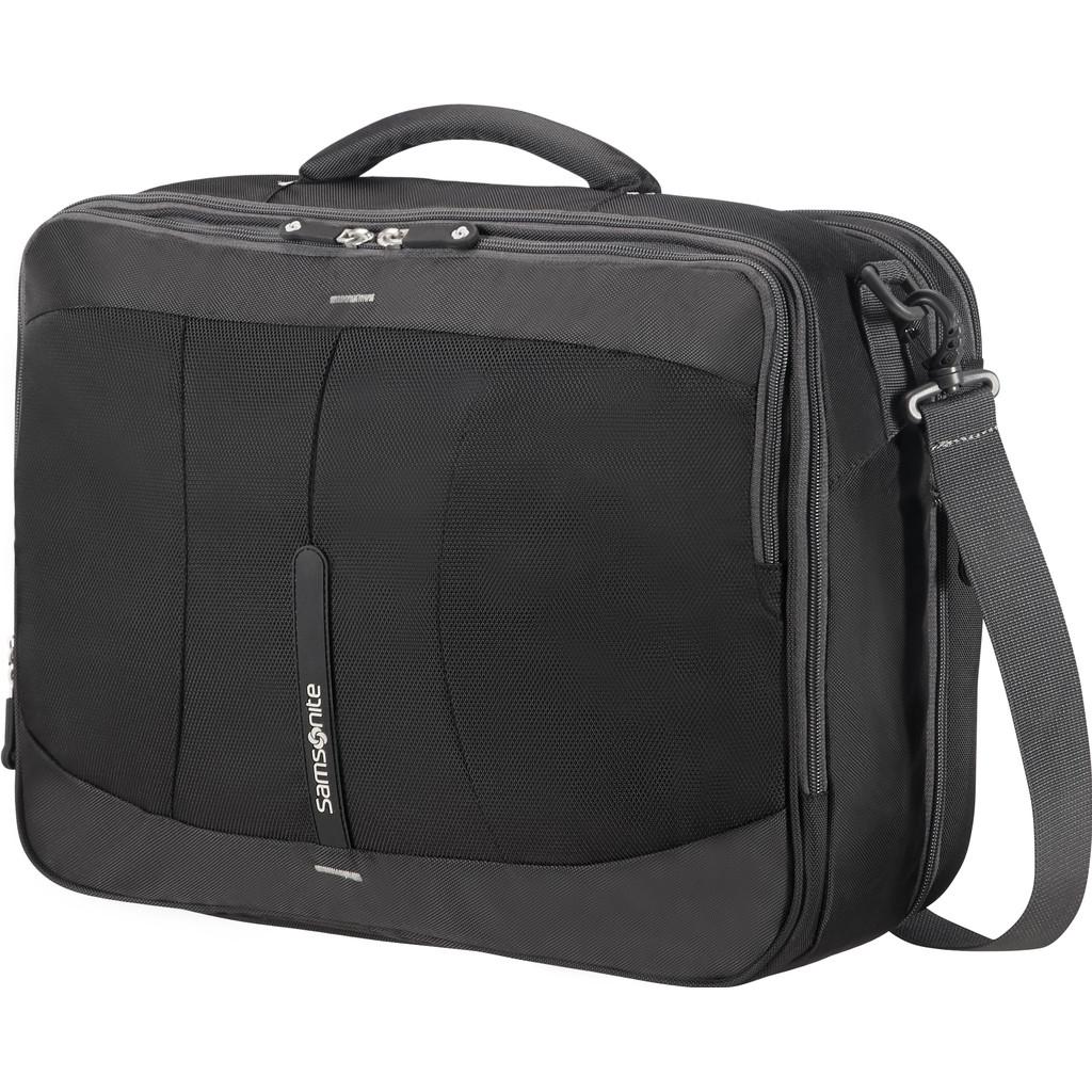 Samsonite 4Mation 3-Way Shoulder Bag Expandable black-silver