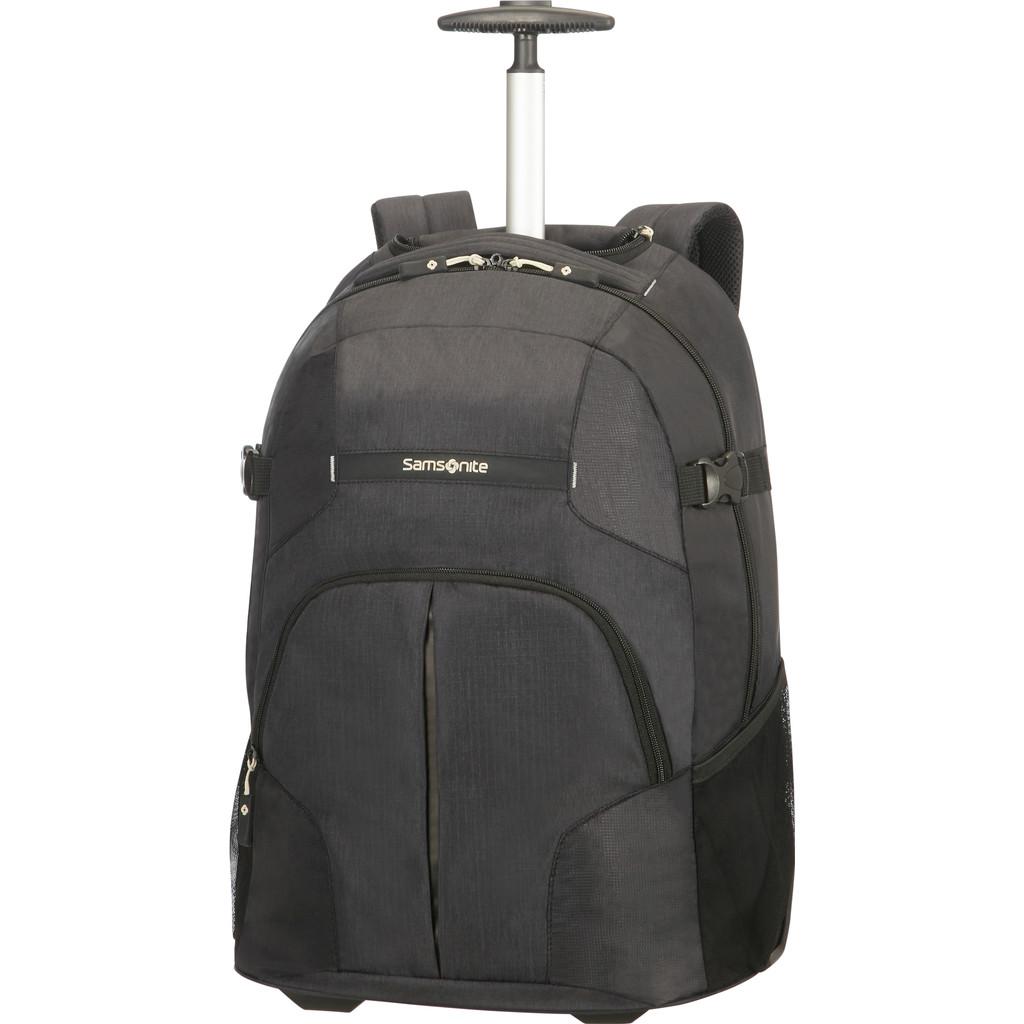 Samsonite Rewind Laptop Backpack Wheels 55 Black