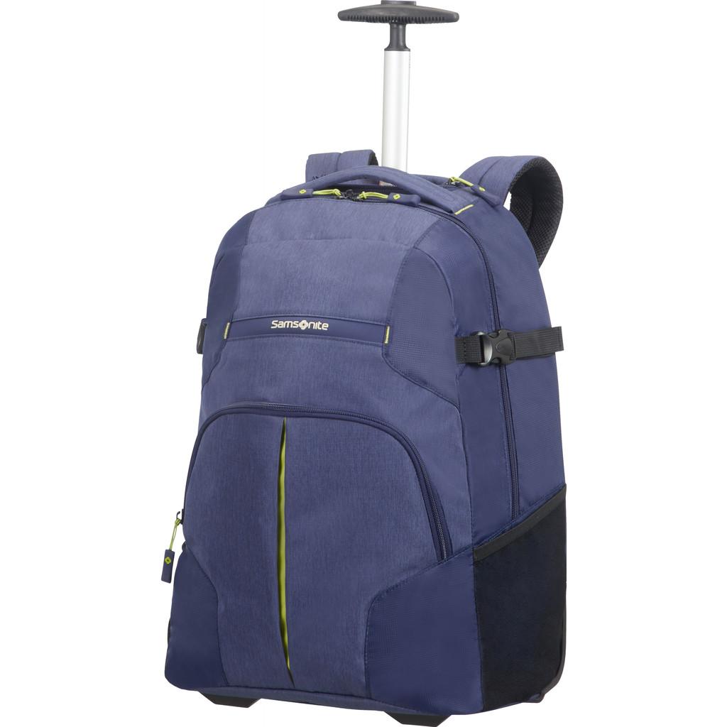 Samsonite Rewind Laptop Backpack Wheels 55 Dark Blue