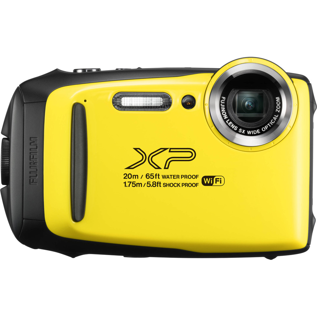 Fujifilm FinePix XP130 compact camera Geel