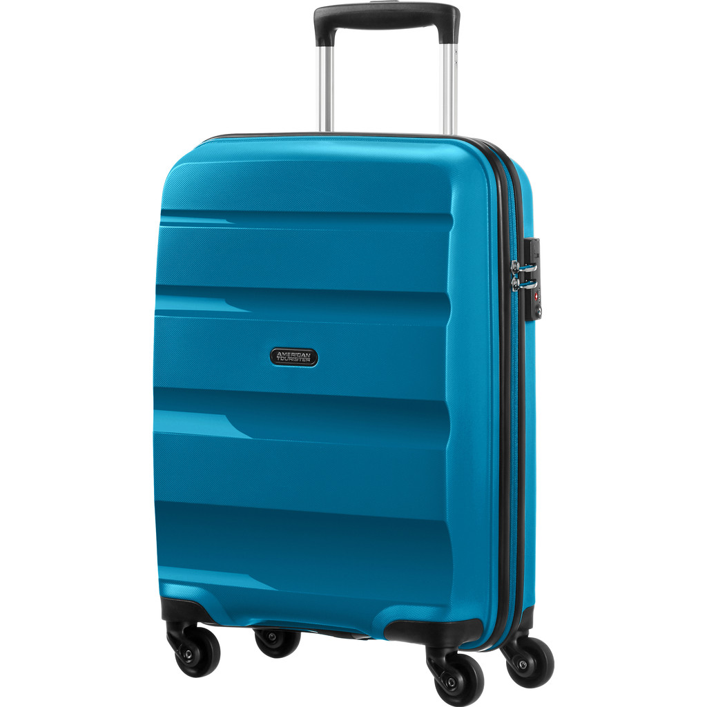 American Tourister Bon Air Spinner S Strict seaport blue Harde Koffer