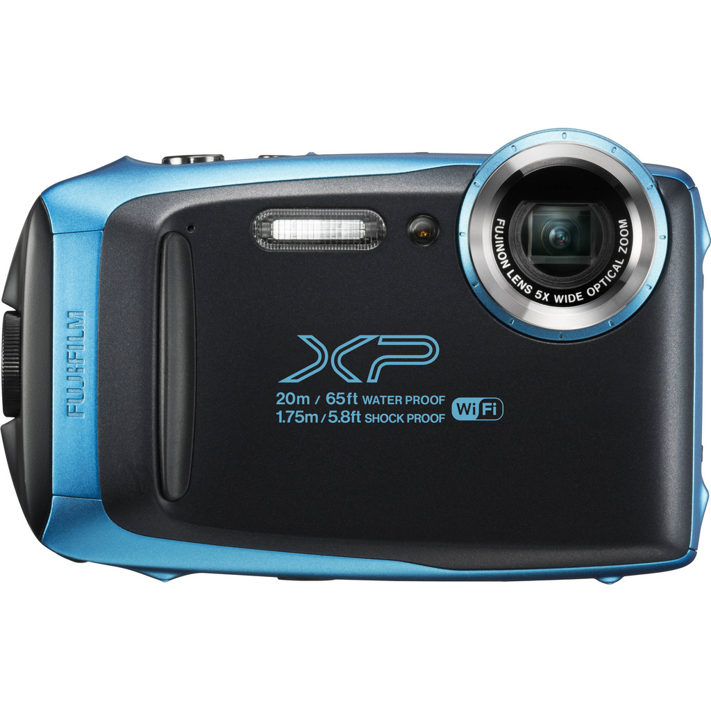 Fujifilm FinePix XP130 compact camera Blauw