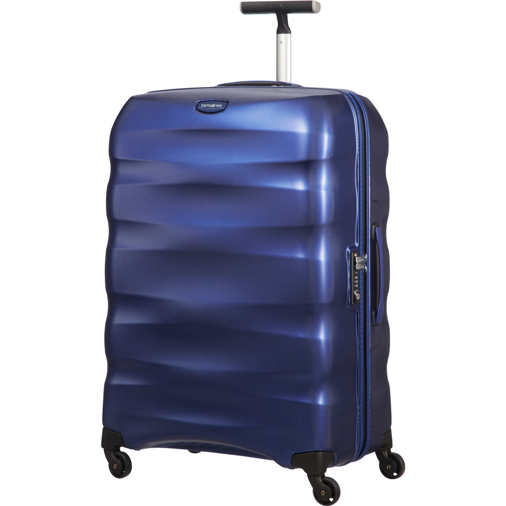 Samsonite Engenero Spinner 75cm Diamond Oxford Blue in Deftinge