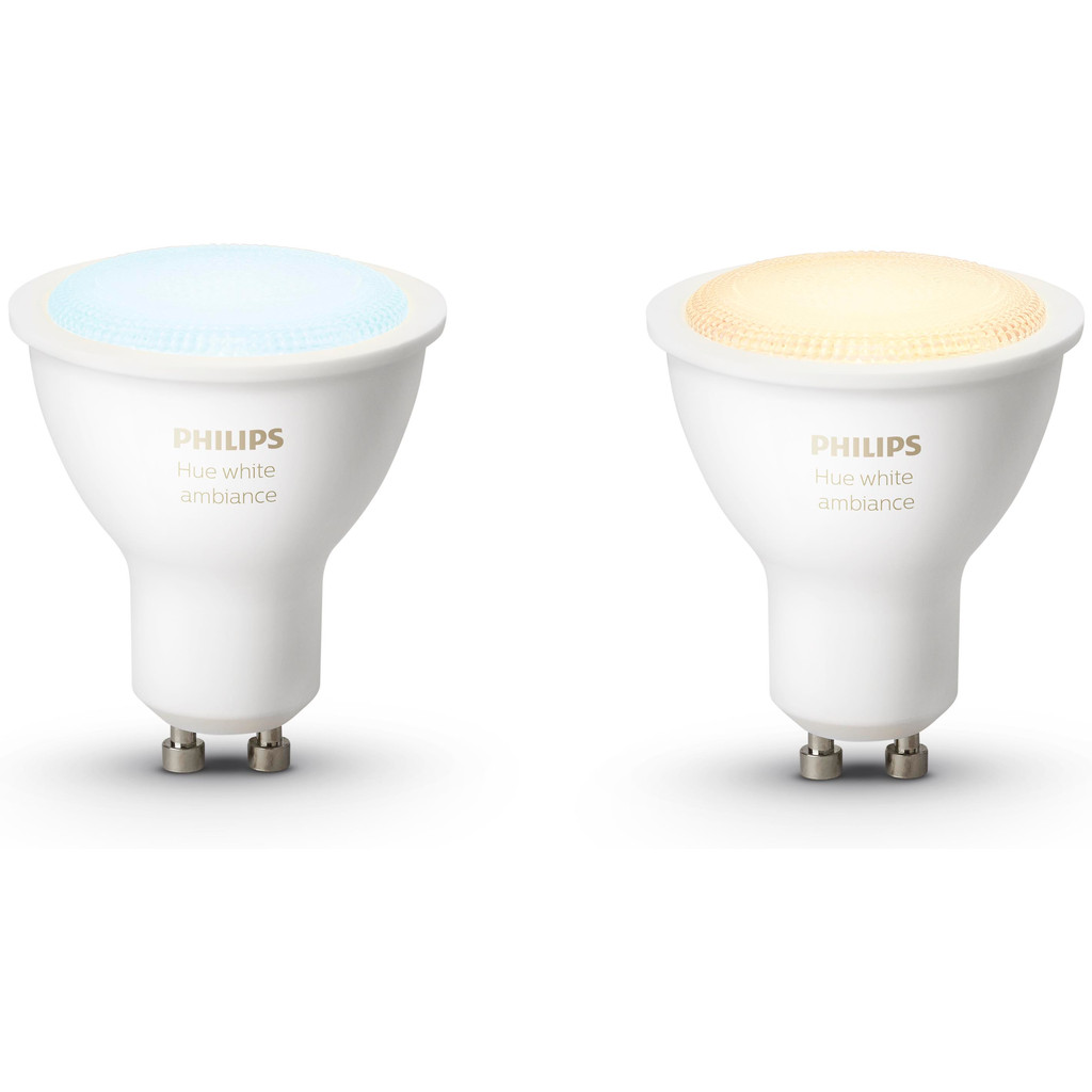 Philips Hue White Ambiance GU10 Duopack in Nagele