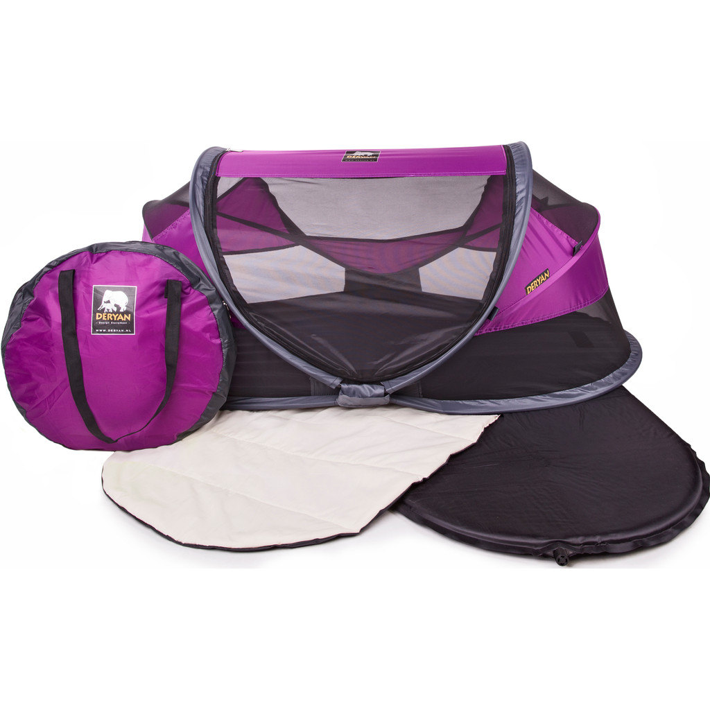 Deryan Travel Cot Baby Luxe Purple in Nieuwesluis