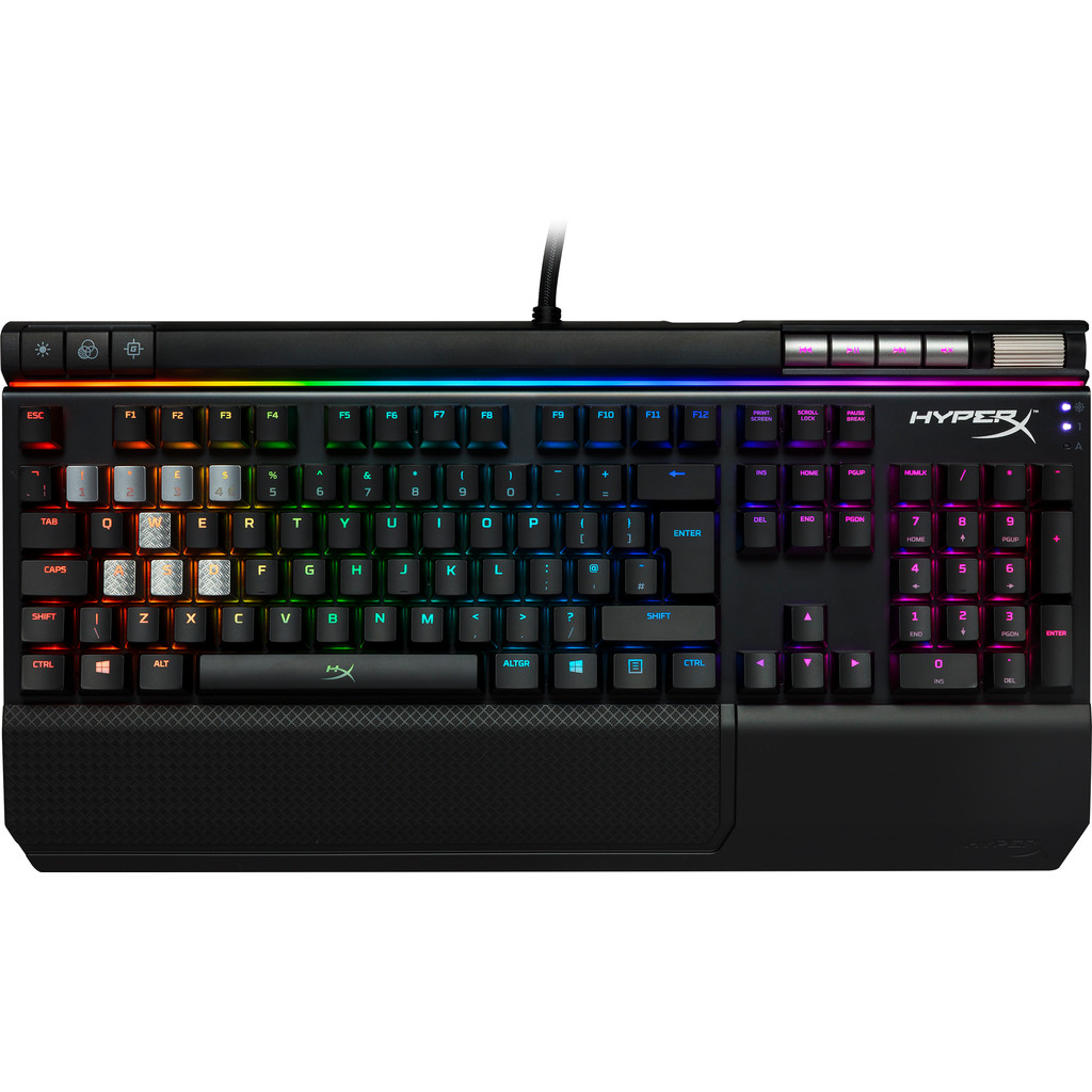 HyperX Alloy Elite RGB Cherry MX Red QWERTY kopen