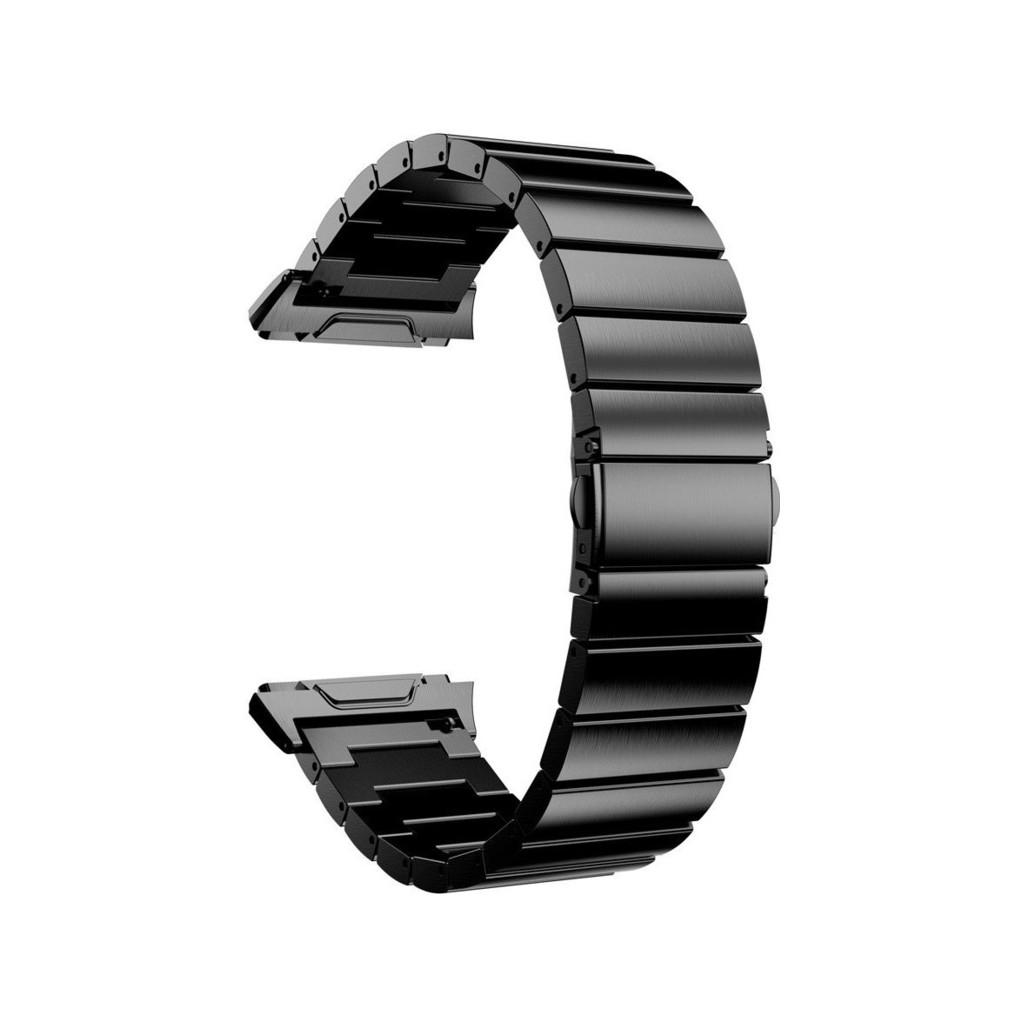 Just in Case Fitbit Ionic RVS Horlogeband Zwart kopen