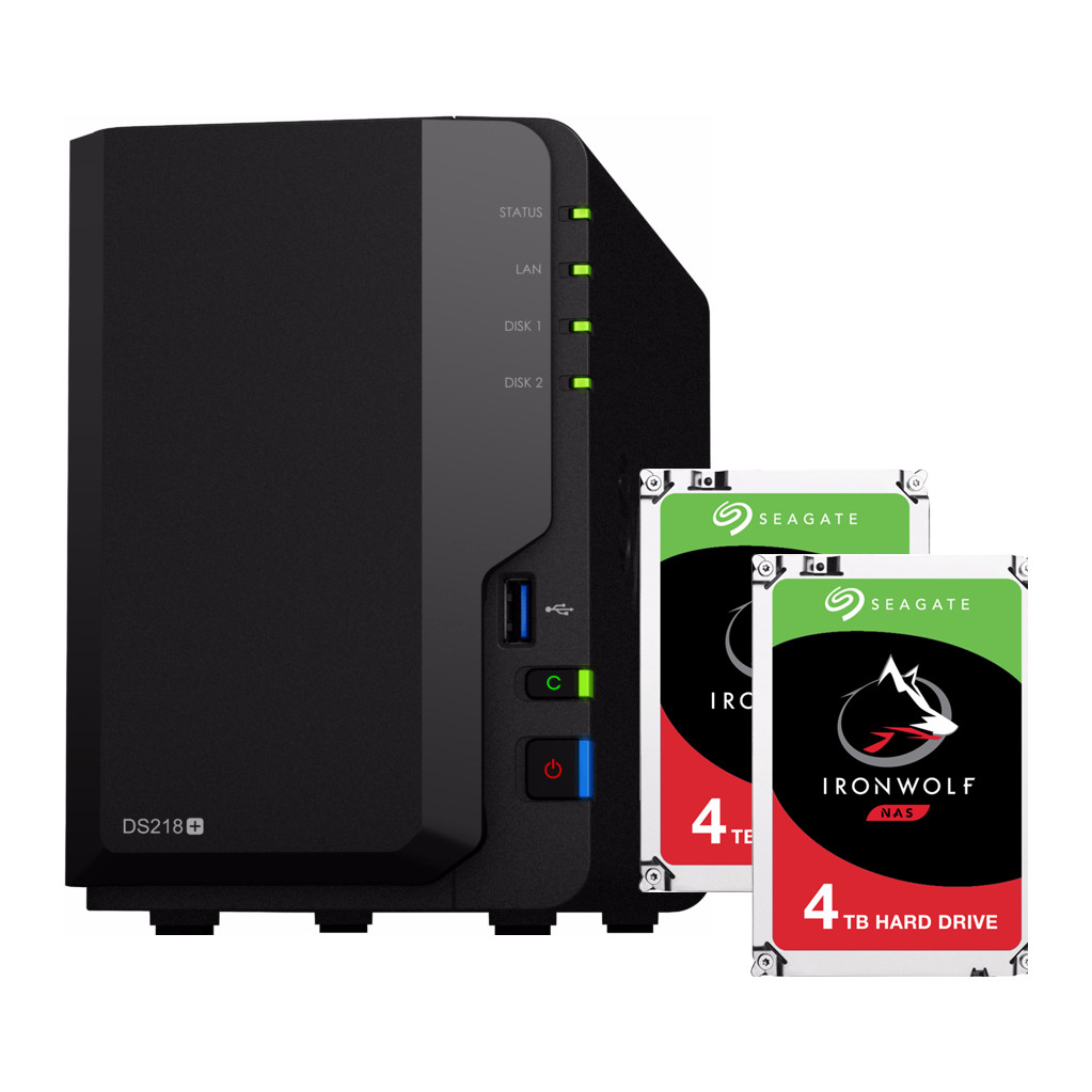 Synology DS218 8TB