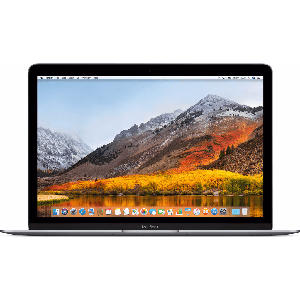 "Apple MacBook 12"" (2017) 16/512GB - 1,4GHz Space Gray"
