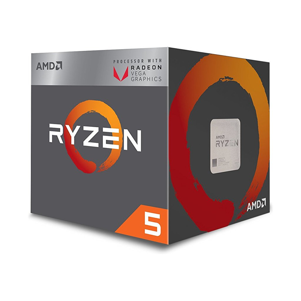 AMD Ryzen 5 2400G Boxed in Voorstonden