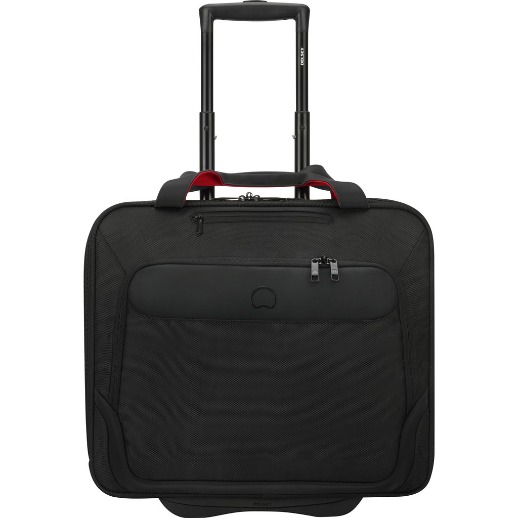 Delsey Parvis Two Compartment Trolley Boardcase 17 black