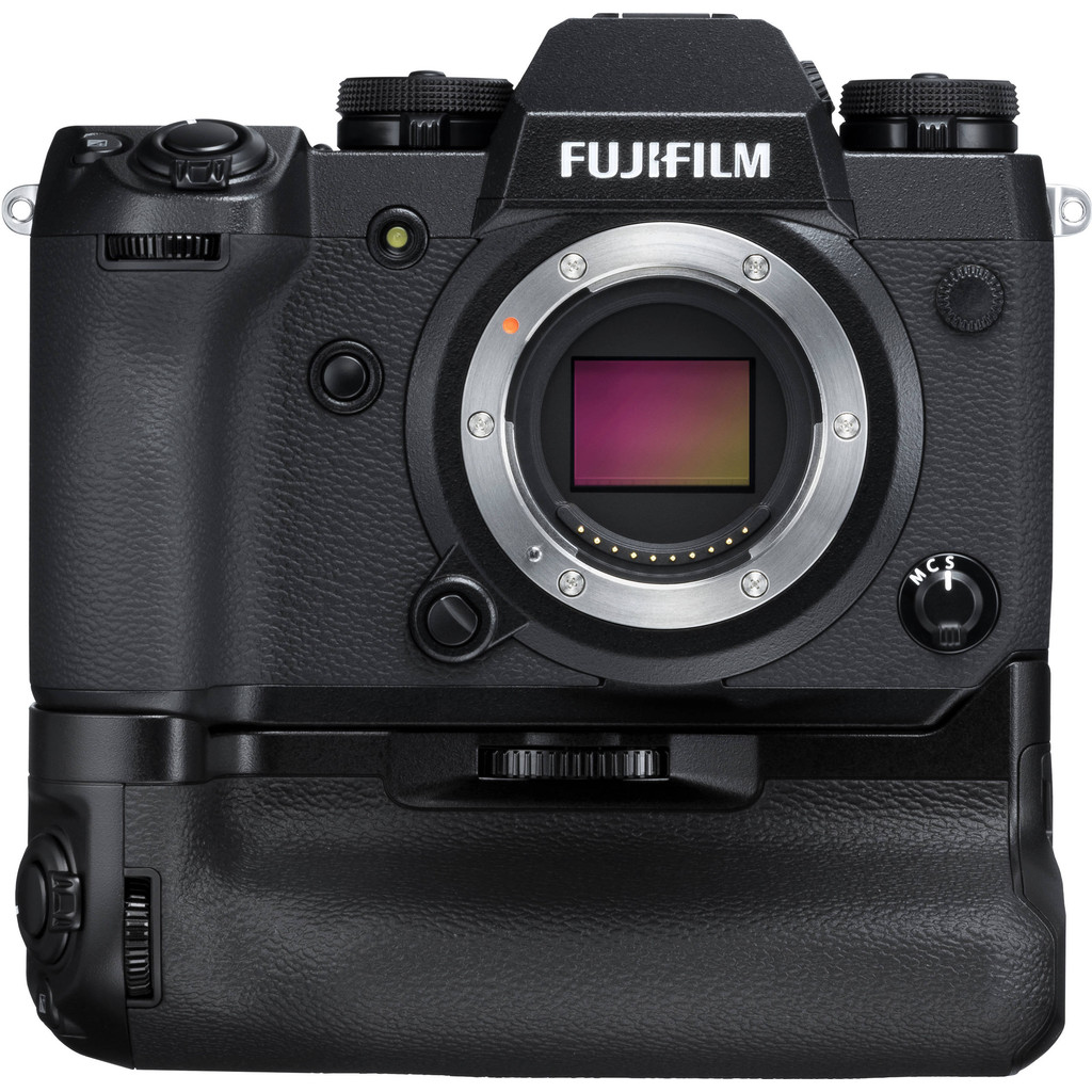 Fujifilm X-H1 systeemcamera Body Zwart + VPB-XH1