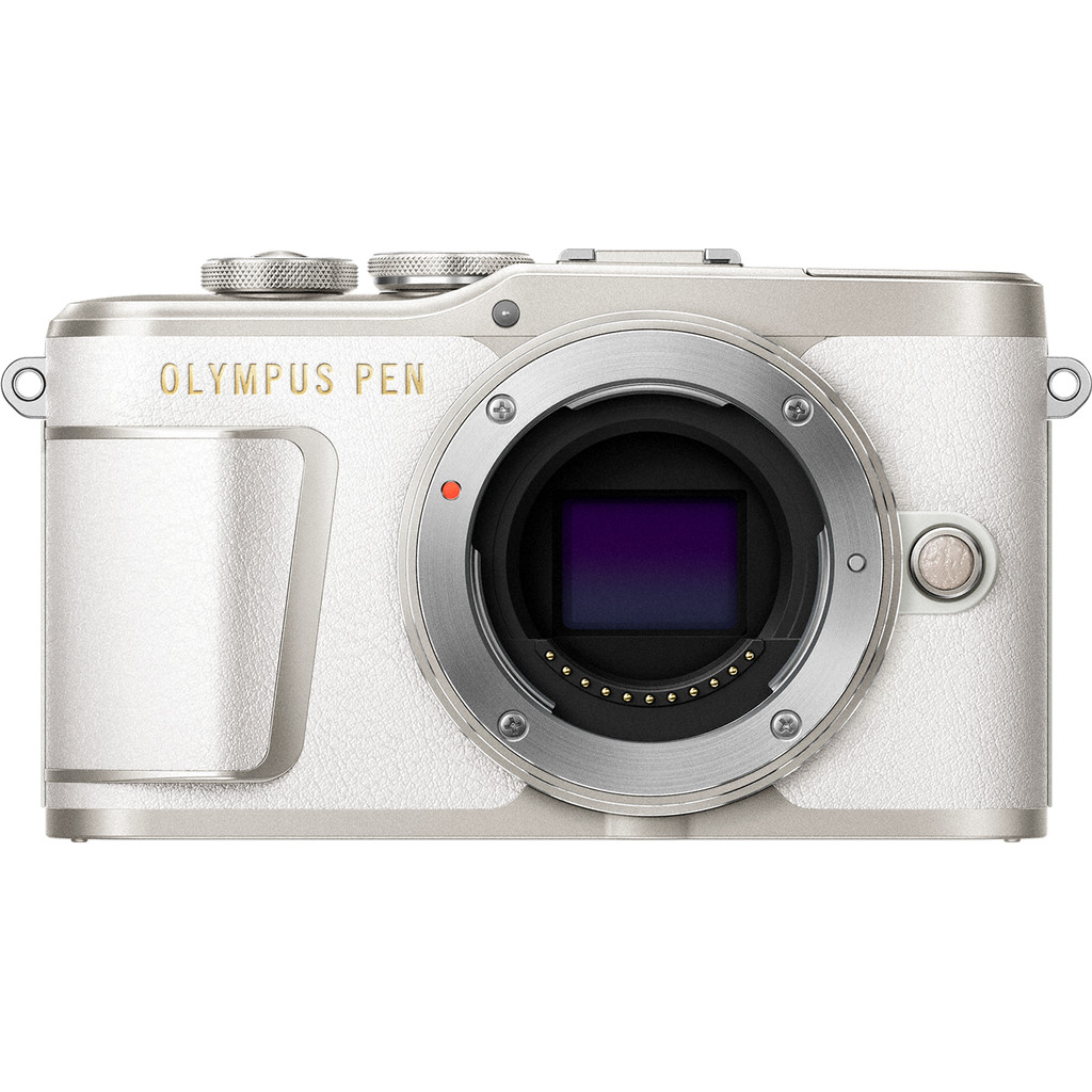 Olympus PEN E-PL9 Body Wit-16,1 megapixels, filmt in 4K  Met wifi en bluetooth  Camerabody zonder lens