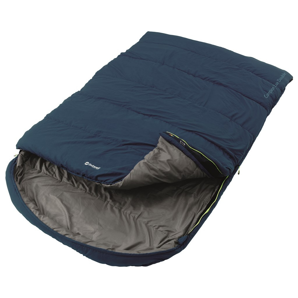Outwell Campion Lux Double Blue in Waltwilder