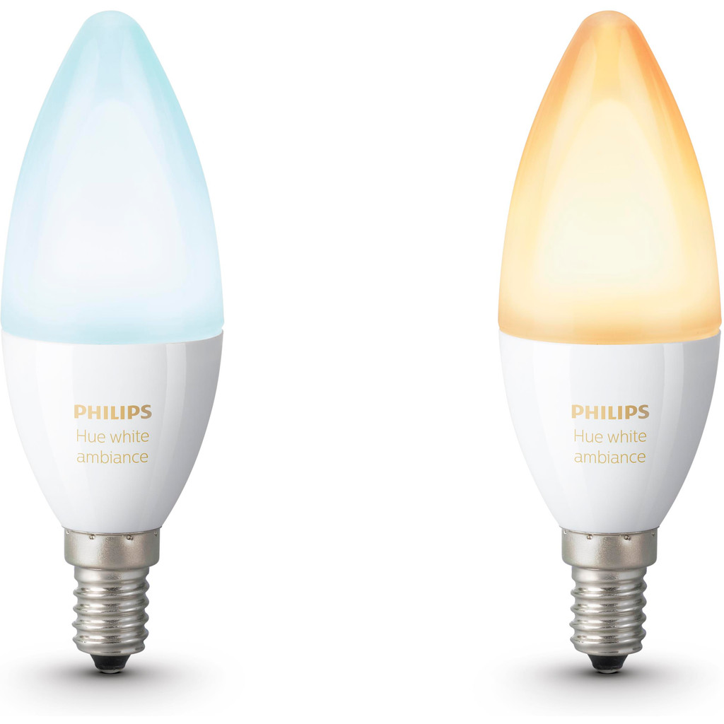 Philips Hue White Ambiance E14 Duopack in Leers-Nord