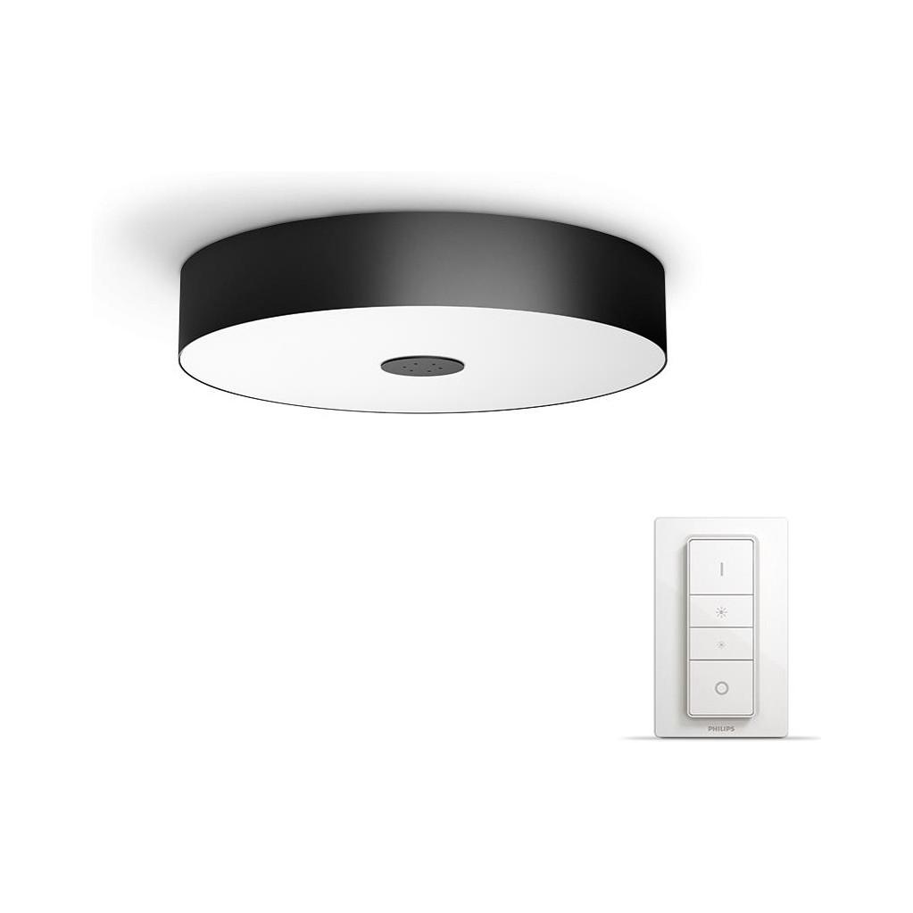 Philips Hue Fair Plafondlamp Zwart Startpakket